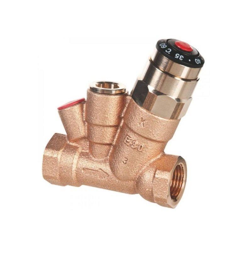 Термостатический балансировочный клапан AHT, Danfoss