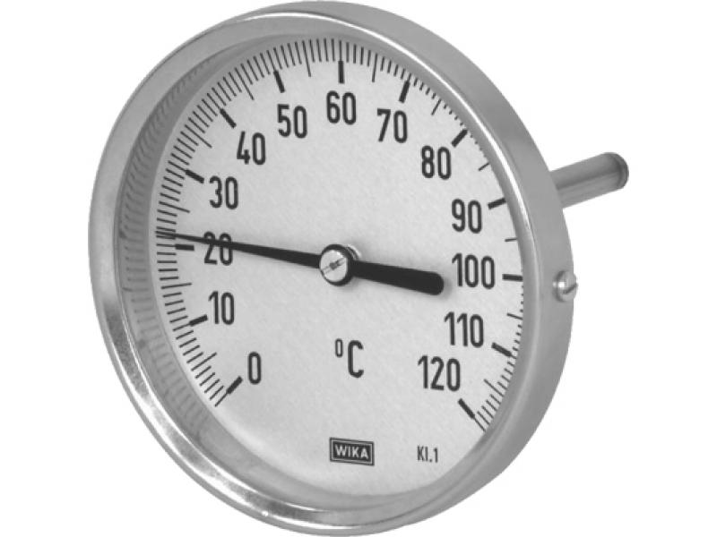 Термометр биметаллический, тип А50.20 (100 мм, сталь оцинкованная), Wika
