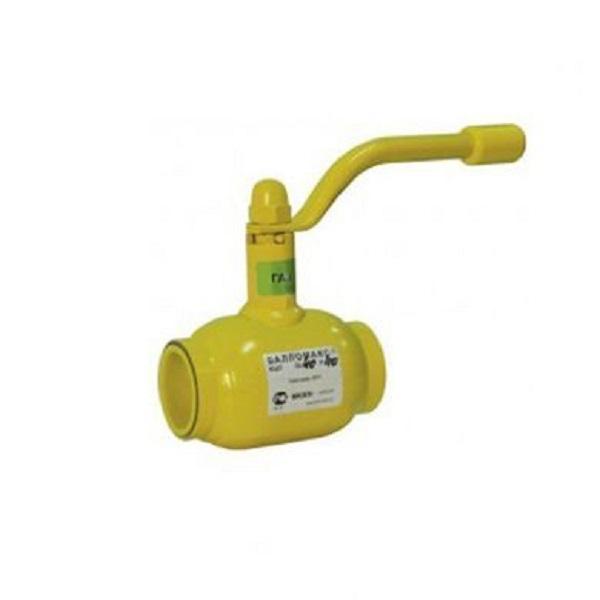 Шаровой стальной кран для газа резьба/резьба, с рукояткой, Ду 10-50 Ру 40,  Broen Ballomax