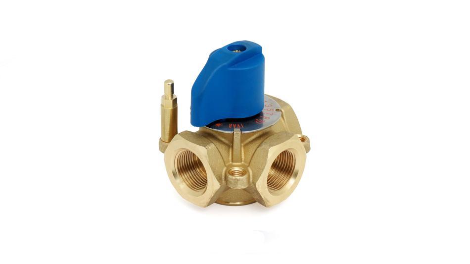 Клапан трехходовой смесительный GMMD, TA
