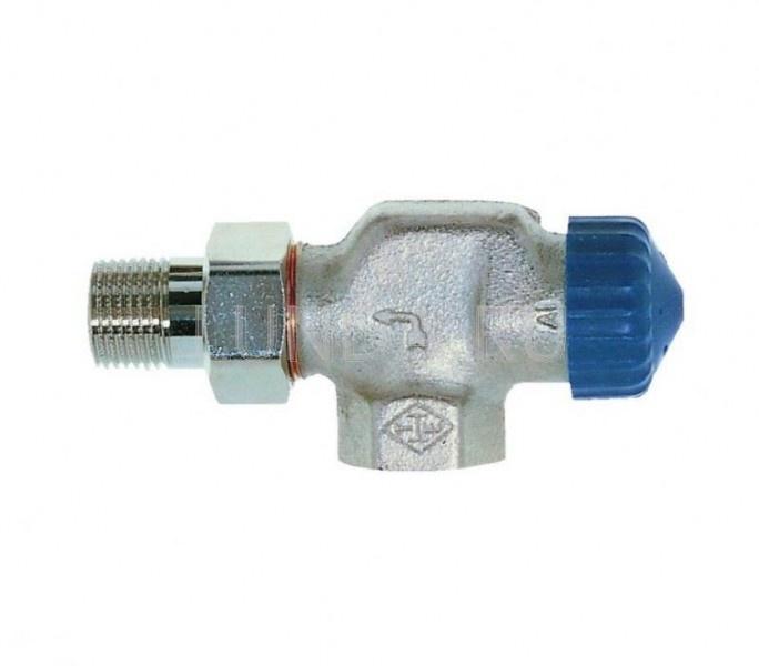 Термостатический клапан с малым сопротивлением, осевой, Heimeier