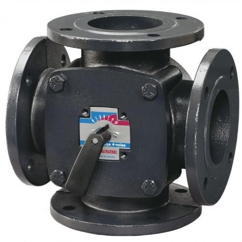 Клапан четырехходовой смесительный F, Esbe