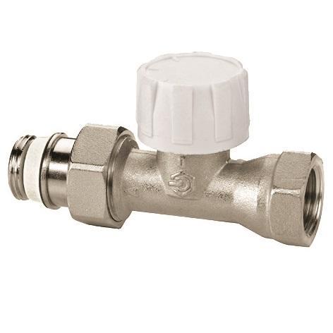 Термостатический клапан c предварительной настройкой, прямой, Meibes