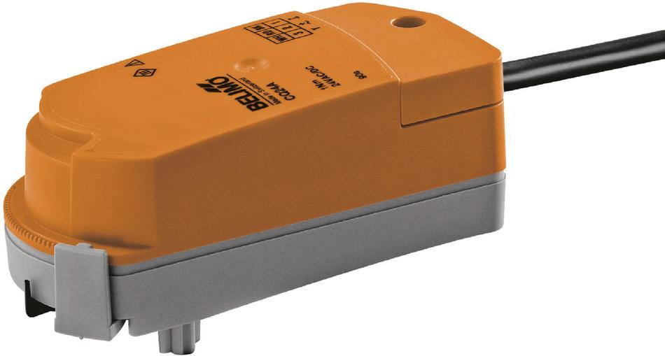 Поворотный электропривод для шаровых кранов CQ с установкой величины kv, Belimo