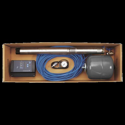 Комплект для поддержания постоянного давления с насосом SQE, Grundfos