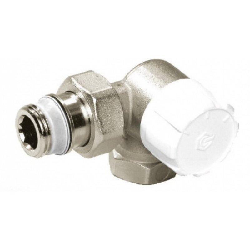Термостатический клапан с предварительной настройкой, трехосевой, Meibes