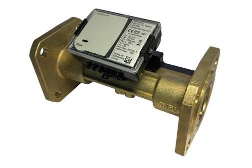 Ультразвуковой расходомер SonoSensor 30 фланцевый, для учета в системах теплоснабжения, Danfoss