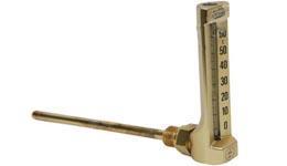 Промышленный стеклянный термометр угловой W3211, Wika