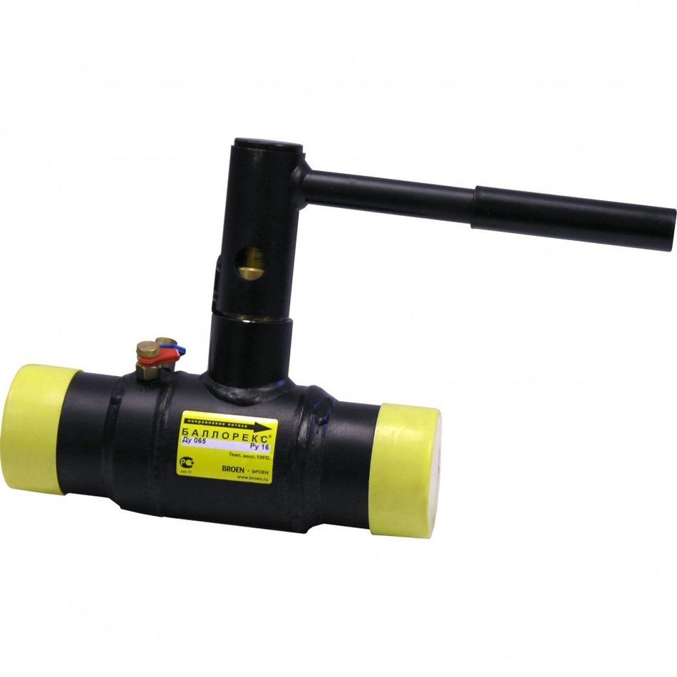 Балансировочный клапан с/с Ballorex® Venturi FODRV, Ду 65-200, Broen