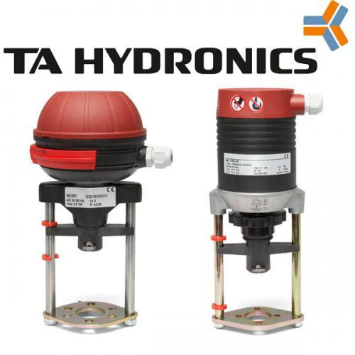 Электроприводы МС для клапанов CV 206/216 GG, CV 306/316 GG, TA