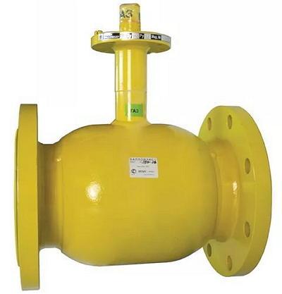 Шаровой стальной кран для газа фланец/фланец, с ИСО-фланцем, Ду 125-500 Ру 16-25, Broen Ballomaх