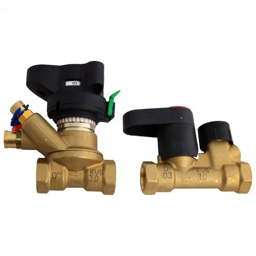 Комплект балансировочных клапанов MVT/MSV, Danfoss