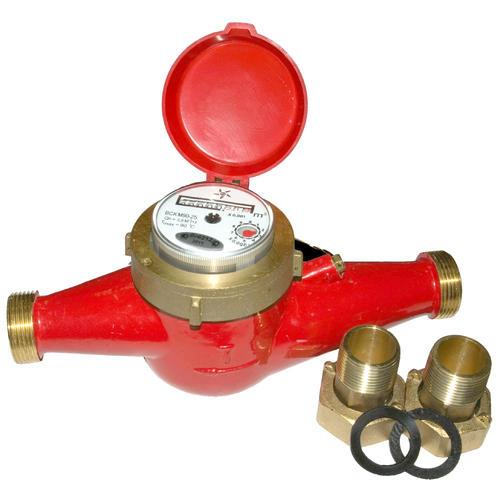 Счетчик воды универсальный многоструйный ВСКМ 90 (Ду 25-50), Декаст Метроник (ПК ПРИБОР)