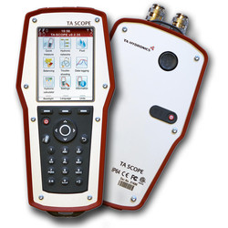 Компьютерный прибор для измерения расхода, давления, температуры и мощности TA-SCOPE Premium, TA