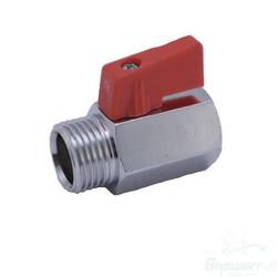 Шаровой латунный кран НР-ВР, ручка-флажок, Ду 15-20 Ру 15, Itap MINI тип 126