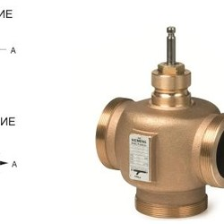 Клапан регулирующий VXG44..., Siemens