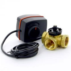 Комплект: клапан серии VRG 130  и привод ARA серии 600, Esbe