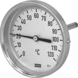 Термометр биметаллический с поверкой, тип А52.100, Wika