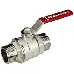 Шаровой кран латунный НР-НР, стандартнопроходной, ручка-рычаг, Ду 15-50, Ру 28-35, Giacomini R253DL