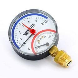 Термоманометр TMRA, подключение снизу, Watts