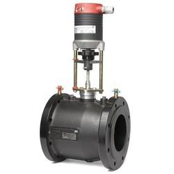 Комбинированный балансировочный клапан ф/ф Fusion-C Ду 65-150 с электроприводом, TA