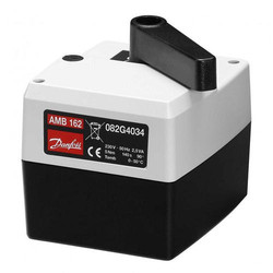 Электропривод для поворотных клапанов AMB 162/182, Danfoss