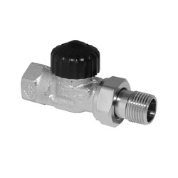 Термостатический клапан Standard, прямой, Heimeier
