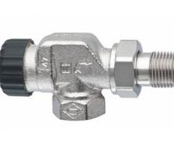Термостатический клапан Standard, осевой, Heimeier