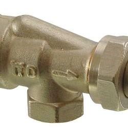 Термостатический клапан VUN2.., осевой, Siemens