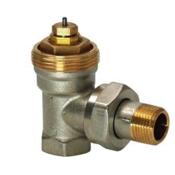 Термостатический клапан VEN1.., угловой, Siemens