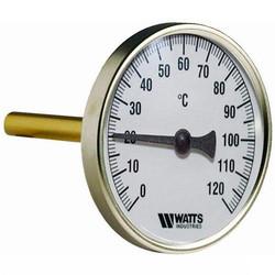 Термометр биметаллический, тип F+R801, Watts