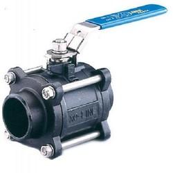 Шаровой стальной кран полнопроходной сварка/сварка SOCLA X3444B, Danfoss