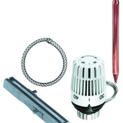 Термостатический элемент K с контактным или погружным датчиком, Heimeier