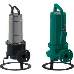 Погружной насос для отвода сточных вод с режущим механизмом Rexa CUT, Wilo