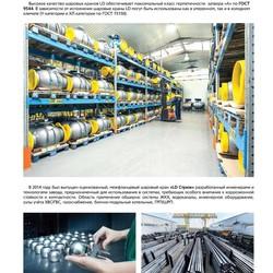 Шаровой стальной кран для газа резьба/резьба полнопроходной, с рукояткой, Ду 15-80, Ру 25/40, LD