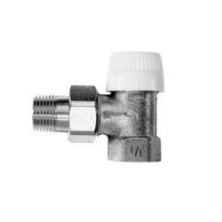 Термостатический радиаторный клапан типа UBG, угловой, Honeywell