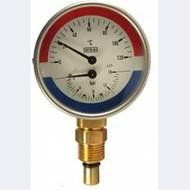 Термоманометр, тип WP, подключение снизу, Wika