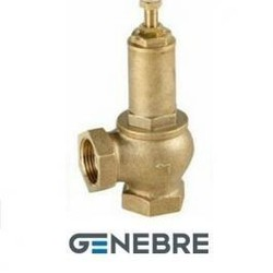 Клапан предохранительный регулируемый серии 3190, Genebre