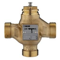 Клапан трёхходовой регулирующий (смесительный), Heimeier