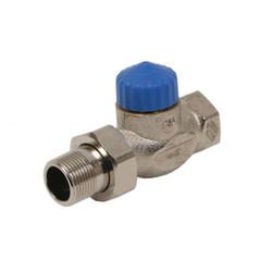 Термостатический клапан с малым сопротивлением, прямой, Heimeier
